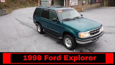 Ford Explorer 1998 by 1998 Ford Explorer Xlt