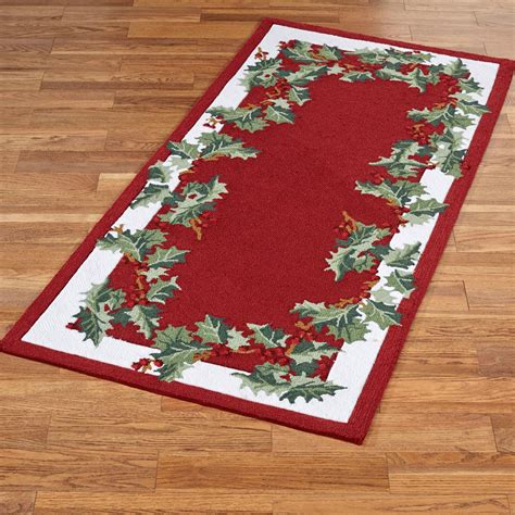 round christmas rug rugs ideas
