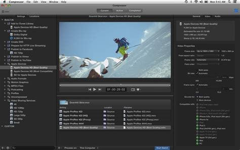 final cut pro lagging apple updates compressor with improved encoding of gopro
