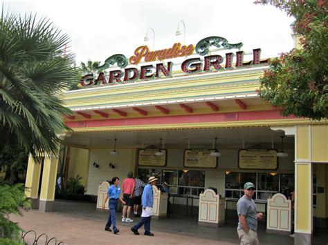 Paradise Garden Grill by Disneyland Ca Adventure Restaurants Of Paradise