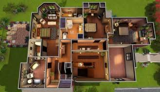 halliwell manor floor plan 1329 prescott street the home of the legendary charmed ones sim 4 house ideas pinterest