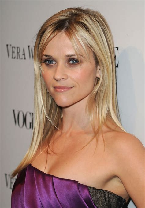 side swept bangs middle part the different reese witherspoon hairstyles with bangs