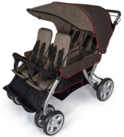 Chair Stroller Familly foundations 174 four child stroller review