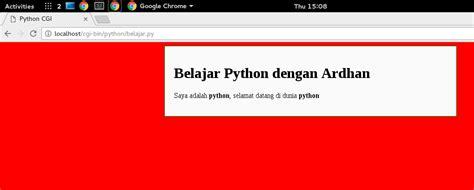 cara membuat web dengan script html cara membuat website dengan python ardhan wahyu rahmanu