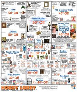 Hobby lobby coupon amp ad through june 12 2010 papercrafter s corner
