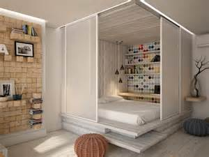 pretty visualization small apartment with open spaces