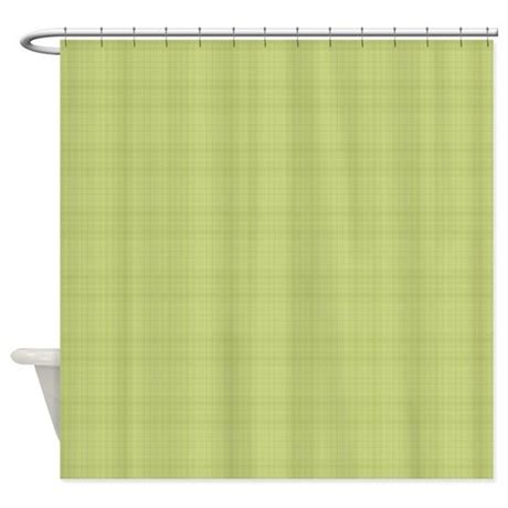 light green drapes light green plaid shower curtain by laurie77
