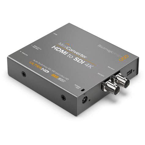 Konverter Hdmi To Sdi blackmagic design mini converter hdmi to sdi 4k