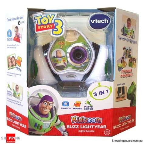 vtech story 3 kidizoom buzz lightyear digital shopping shopping square