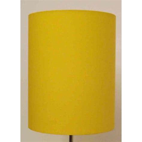 drum cylinder mustard yellow lshade ceiling light
