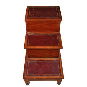 Bed Steps by Georgian Mahogany Bed Steps Antiques Atlas