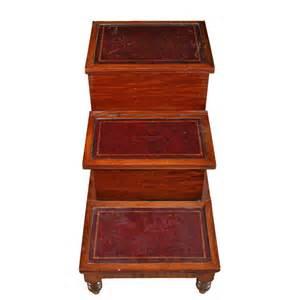 bed steps georgian mahogany bed steps antiques atlas