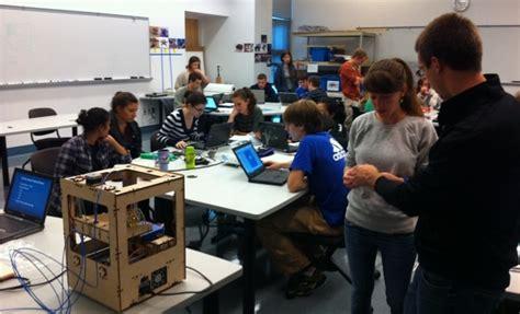 design engineer schools makerbot in the wild mechanical engineering class