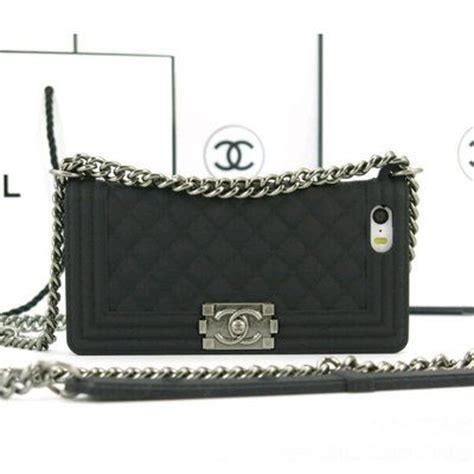 Chanel Gold For Iphone 4s Or Iphone 5s black chanel boy chain bag phone for iphone 4 4s iphone 5 5s 6 plus samsung galaxy note 2