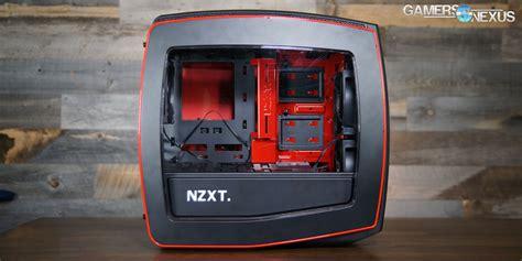 Nzxt Manta By Coc Komputer nzxt manta mini itx review benchmark gamersnexus