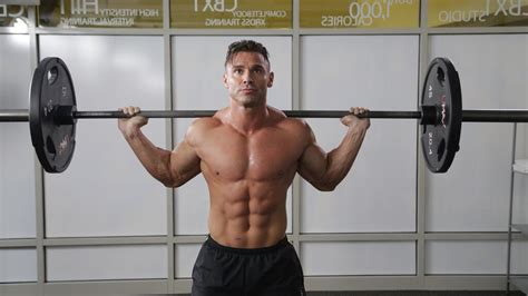 muscle and fitness four week program for a shredded summer body muscle
