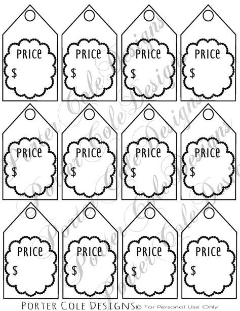 printable sale tags free price tags printable digital file