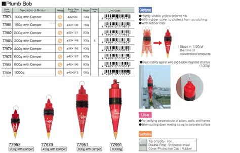 How To Plumb Bob In Putting by Ichiban Precision Sdn Bhd Shinwa Shinwa Plumb Bob