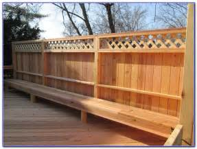 privacy deck railing designs decks home decorating