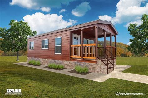 shore park cabin 4110ct by skyline homes