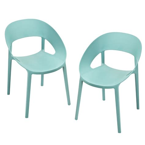 Plastic Chairs by Joveco 2 Plastic Chair Modern Design Surfin