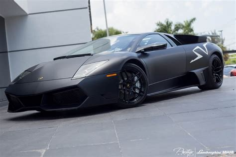 lamborghini murcielago back black lamborghini murcielago sv for sale in miami gtspirit