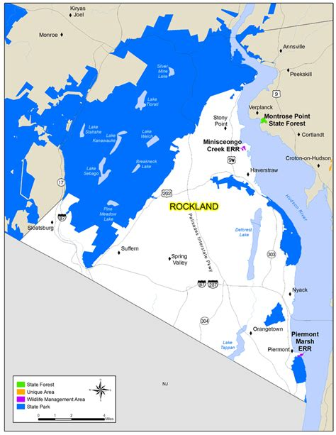 rockland county map ny rockland county map nys dept of environmental conservation