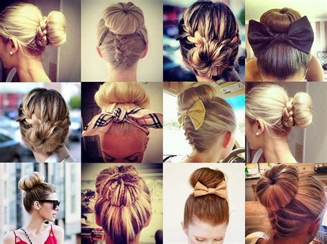hairstyles sock buns the gallery for gt how to make hair bun with sock