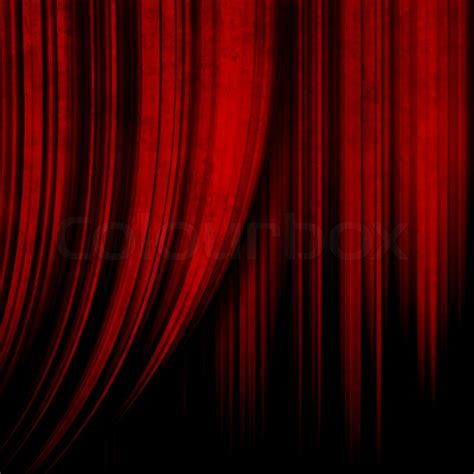dark red curtains dark red theater curtain stock photo colourbox