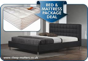 Bed With Mattress Deals by Leather Bed And Mattress Package Deals