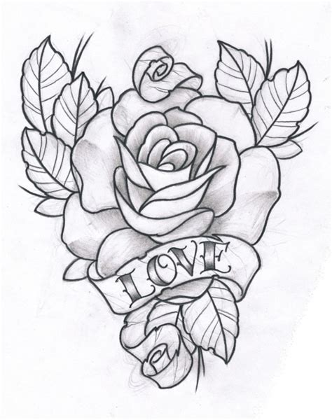 tattoo love draw rose and love by terokiiskinen on deviantart tattoo