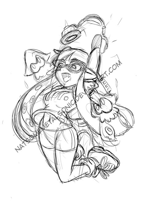 Splatoon 2 Sketches splatoon sketch by natsumemetalsonic on deviantart
