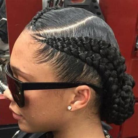 Feeder Braids Hairstyles | best 25 2 feed in braids ideas on pinterest