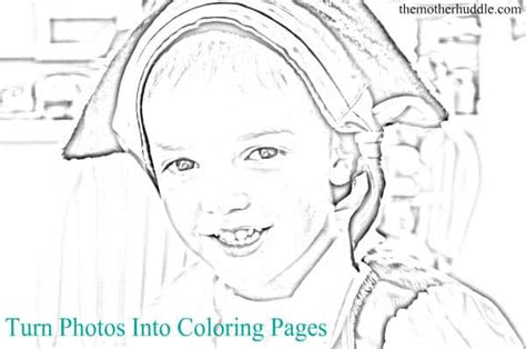 turn photos into coloring pages hello wonderful 6 coloring page ideas with free