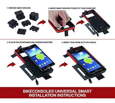 Universal Bike Mount With Waterproof For Smartphone 4 Berkualitas bikeconsole smart 4 waterproof shock protected universal