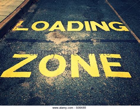background zone loading loading zone sign stock photos loading zone sign stock