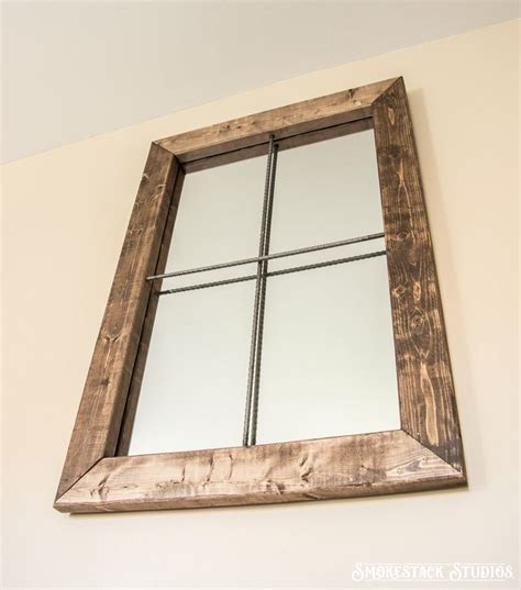 1000 ideas about rustic mirrors on mirror
