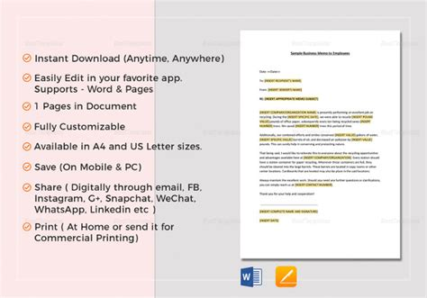 employee discount card template employee memo template 10 free word pdf document