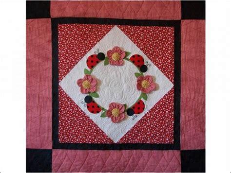 Ladybug Quilt Patterns by Bug Landing Quilt Pattern