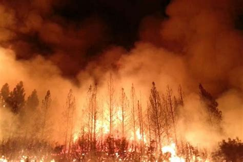 cal fireplace yosemite exle of how droughts lify wildfires