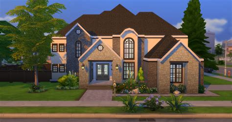 House Plans With Large Windows lacey loves sims suburban elegance