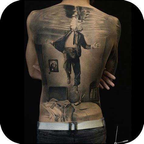 3d tattoo on the back 3d back tattoo best tattoo ideas gallery