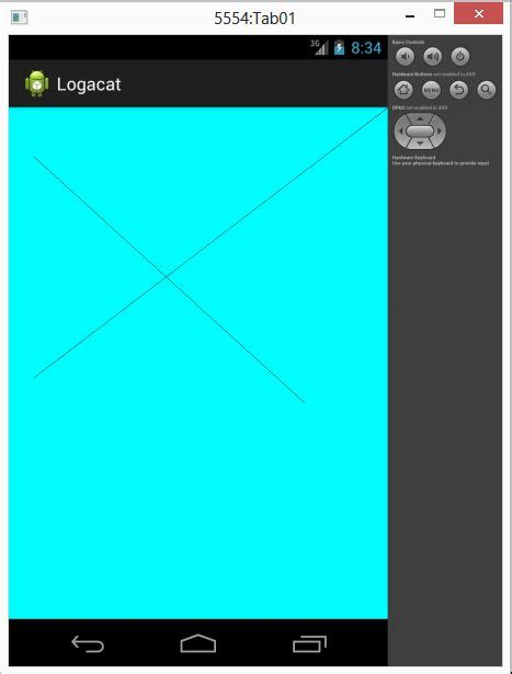 Layout Canvas Android | learn how to draw line using canvas in android