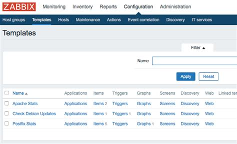 apache templates for zabbix merker webserver items in zabbix erfassen 187 systemtechnics