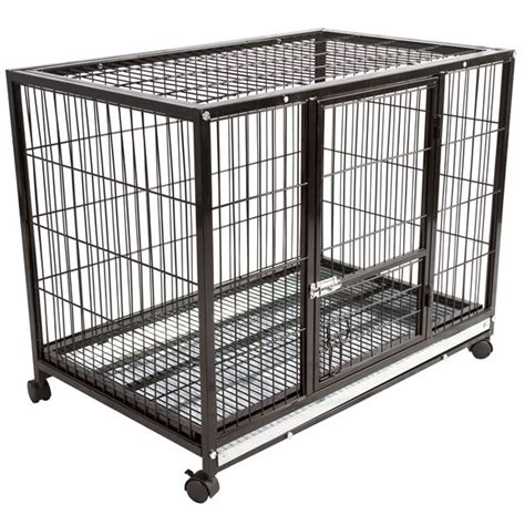 puppy cage wheeled metal pet crate discount rs