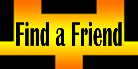 Search Usernames By Email New Find A Friend Logo By Er111a On Deviantart