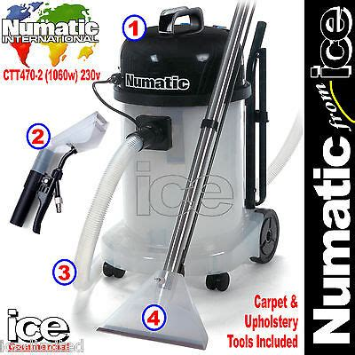 Upholstery Machine Cleaner by Numatic Ctt470 2 Car Valeting Carpet Upholstery Wash