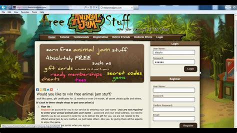 Animal Jam Free Membership Gift Card Codes - get free animal jam gifts gift certificates gems membership accounts cheats guide