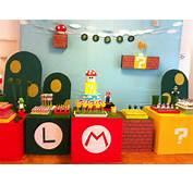 MuyAmenocom Fiestas Infantiles Decoradas Con Mario Bros