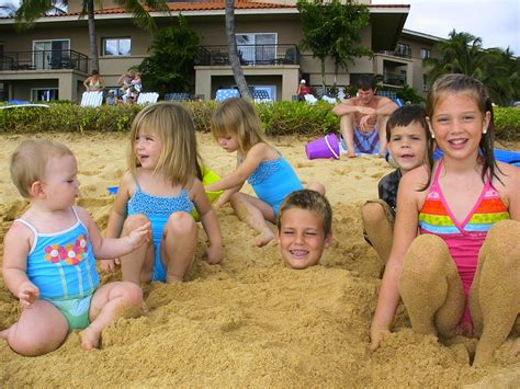 naturist fruits kids globetrotting texans swimming with monk seals in kauai